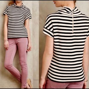 Anthropologie • Postage Atelier Striped Top (Med)